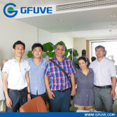 Group Photo with Customer