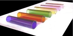 Borosilicate 3.3 colored Glass Tubing