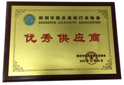Excellent Supplier Certificate