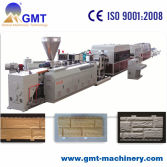 PVC artificial marble siding sheet production line