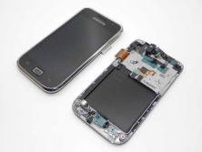 Phone accessories for Samsung i9000 lcd display with touch screen with frame