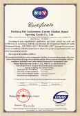 Jiamei Outdoor Fitness Equipment Certificate - ISO18001