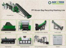 PP Woven Bag Recycling Washing Line - ACERETECH