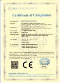 CE certificate for LED lamps