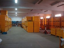 Warehouse for spare parts of concrete vibrator shaft