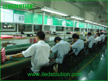After soldering production line