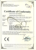 Earphone CE Certificate