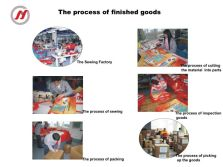 the processing of finish goods