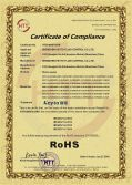 Products Series Certificate