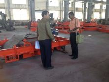 Malaysia Customer Visit for Magnetic Separator