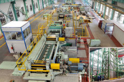 Annealing plate production line