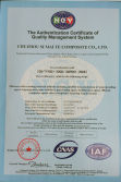 ISO9001 of quality management sysytem