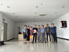 French Customers visited factory