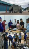 Thailand Warehouse Addressable Fire Alarm and Beam Smoke Detector Project