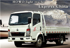 Sinotruk HOWO Light Cargo Truck with Small Cargo Capacity for General Transport