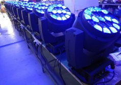 LED moving head line