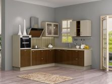 North America Modern Small Wooden Kitchen Cabinet