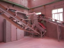 Ferrous sulphate production line