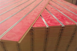 Laminated Slotted MDF Board /Slatwall