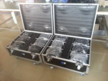 Flightcase for Wireless Battery Power Uplight
