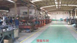 one step injection stretch blow molding machine Assembly shop