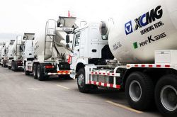 50 XCMG Schwing Concrete Mixers Exported to Middle East