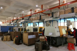 YHT injection moulding workshop