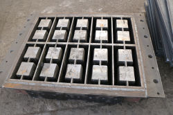8inch hollow block mold