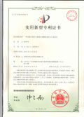 patent certificate for led panel light