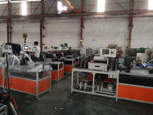 High Speed Wire Straightening and Cutting Machine workshop