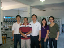 Customer from Ecuador visit our meter test bench factory