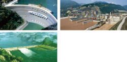 China three gorges hydropower station project