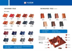 CATALOGUE--SPANISH CLAY ROOF TILE