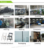 Folding plastic chair production process