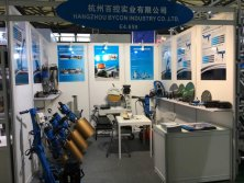 BYCON attend the exhibition in Shanghai Bauma 2016