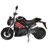 Electric Motorcycle for North America 72V 1500W with Pedal
