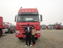 Cameroon Customer Visited our factory in 2012
