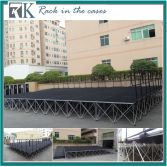 RK high quality portable stages are perfect for event