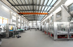 factory processing workshop for different filling machine