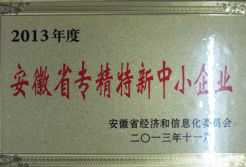 Anhui province specialization new and small enterprise.