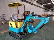Mini crawler excavator with CE
