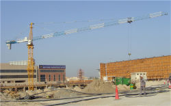 CE SGS PASSED CHINA FACTORY HSJJ TOWER CRANE