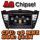 WITSON A8 Chipset S100 CAR DVD FOR HYUNDAI TUCSON / ix35 2009-2011