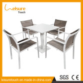 Modern Cheap Hotel Home Cafe Leisure Dining Tables and Chairs Outdoor Garden Patio Aluminum Furnitur