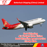 Reliable Air Freight agent from China to North Europe Logistics services