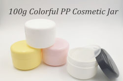 100g Colorful PP Cosmetic Jar