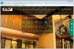 The Third Website about BingYe Wire Mesh Products Co.,LTD