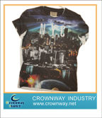 Mens digital printing t-shirt, hot selling now!