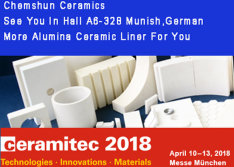 Chemshun Ceramics Will Attend Ceramitec Exhibition 2018