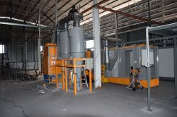 Malaysia Customer powder coating plant